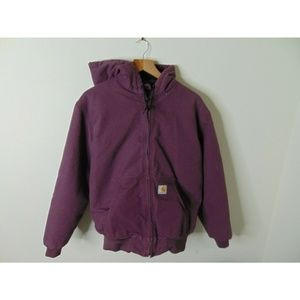 Carhartt M Full Zip Lined Canvas Work Jacket